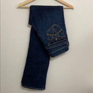 Kut from the Kloth high rise bootcut jeans